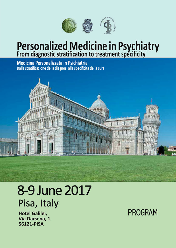 Personalized Medicine in Psychiatry From diagnostic stratification to treatment specificity